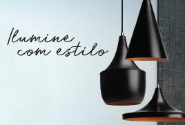 Ilumine com estilo com as luminárias da Vesper