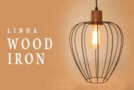 Ilumine com estilo com as luminárias Wood Iron da Vesper